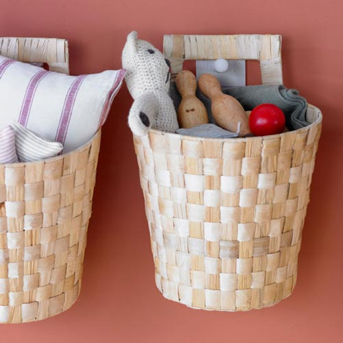 Cestos y capazos una soluci n muy decorativa mi casa - Cesta para guardar juguetes ...