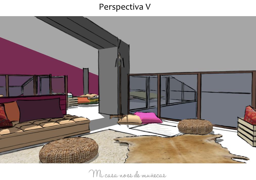 Buhardilla caser o b rriz vizcaya proyecto l mi casa - Muebles para buhardillas ...