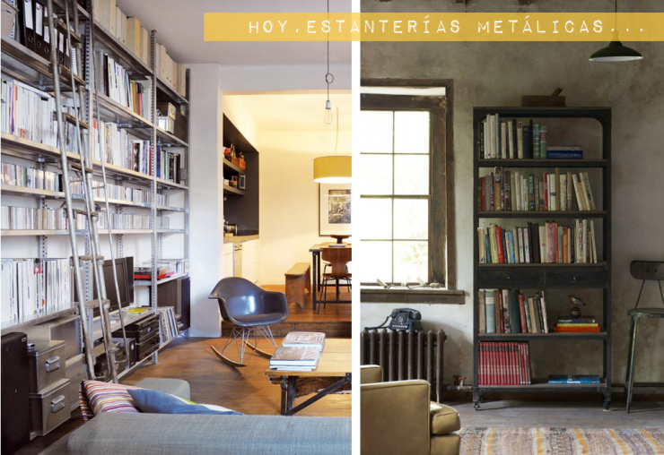 La tendencia de las estanter as met licas mi casa no es - Estanterias para casa ...