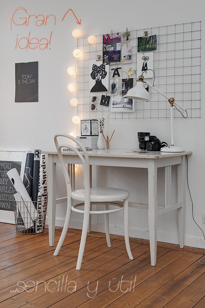 Rejilla para escritorio mi casa no es de mu ecas blog y asesor a online en decoraci n e - Board deco kamer ...