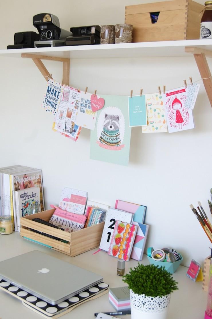 El escritorio perfecto para una adolescente mi casa no for Ideas decoracion escritorio