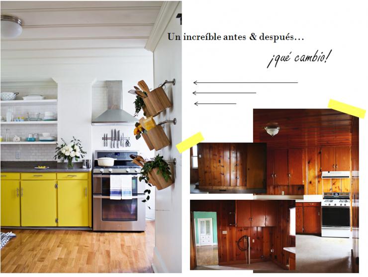 Proyecto cocina - antes y despues -portada