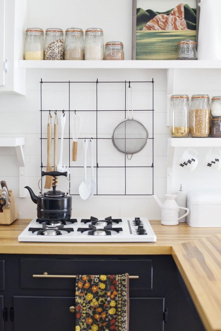 Proyecto diy enrejado para la cocina mi casa no es de for Proyecto cocina
