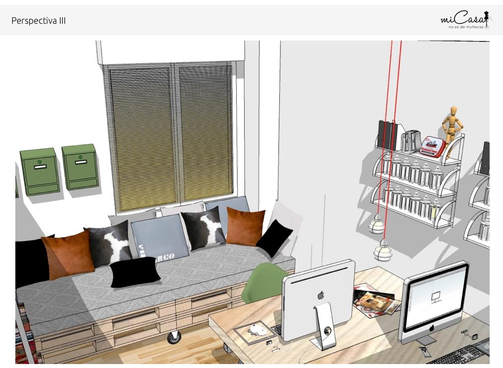 Estudio doble centro zaragoza proyecto l mi casa no for Mi casa online