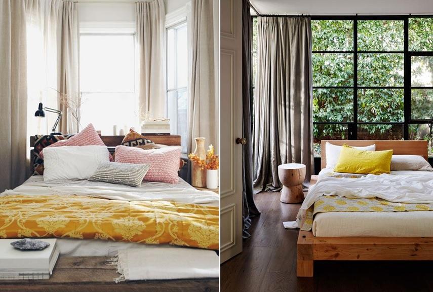 Camas debajo de la ventana s o no mi casa no es de - Como decorar cabeceros de cama ...