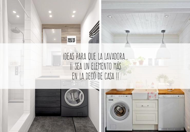 Ideas para integrar la lavadora en la deco de casa 01
