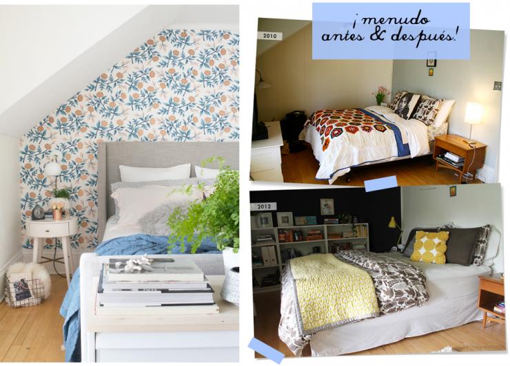 Antes y después reforma dormitorio portada