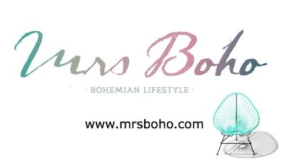 Logo de Mrs Boho