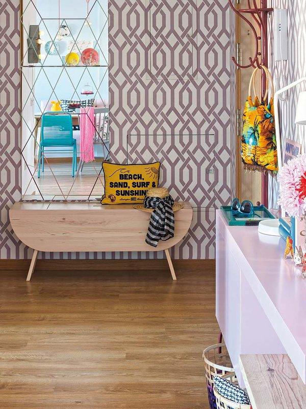 Dec low cost para un piso retro vintage mi casa no es for Decoracion pisos retro
