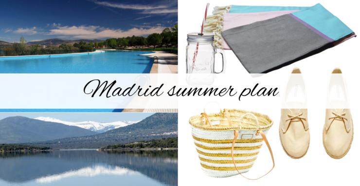 Madrid summer plan - piscinas naturales buitrago lozoya