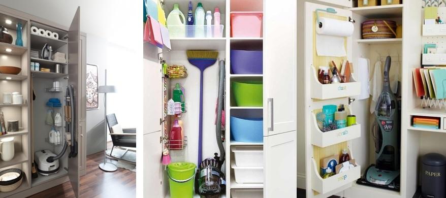 Mis must de limpieza y colada inspiraci n para guardar - Armarios para guardar productos de limpieza ...