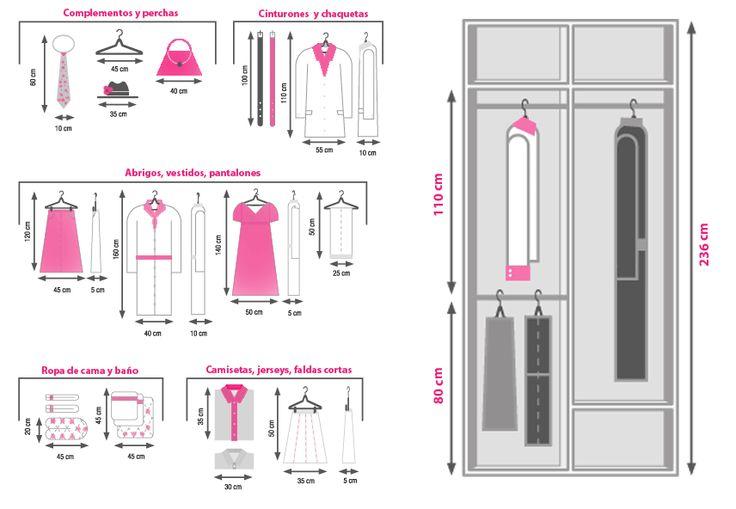 Necesidades en un armario as organizo el m o mi casa - Hacer un armario a medida ...