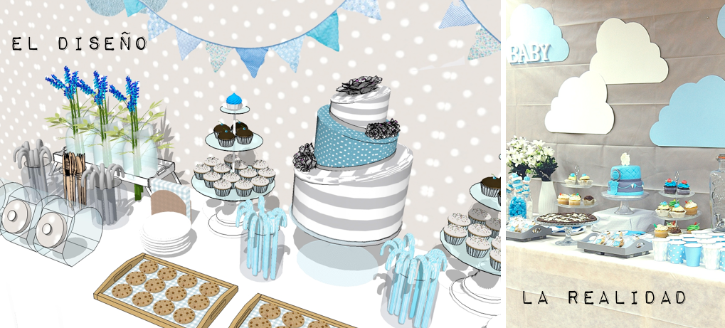 La dec de una babyshower muy especial mi casa no es de mu ecas blog y as - Deco baby shower garcon ...