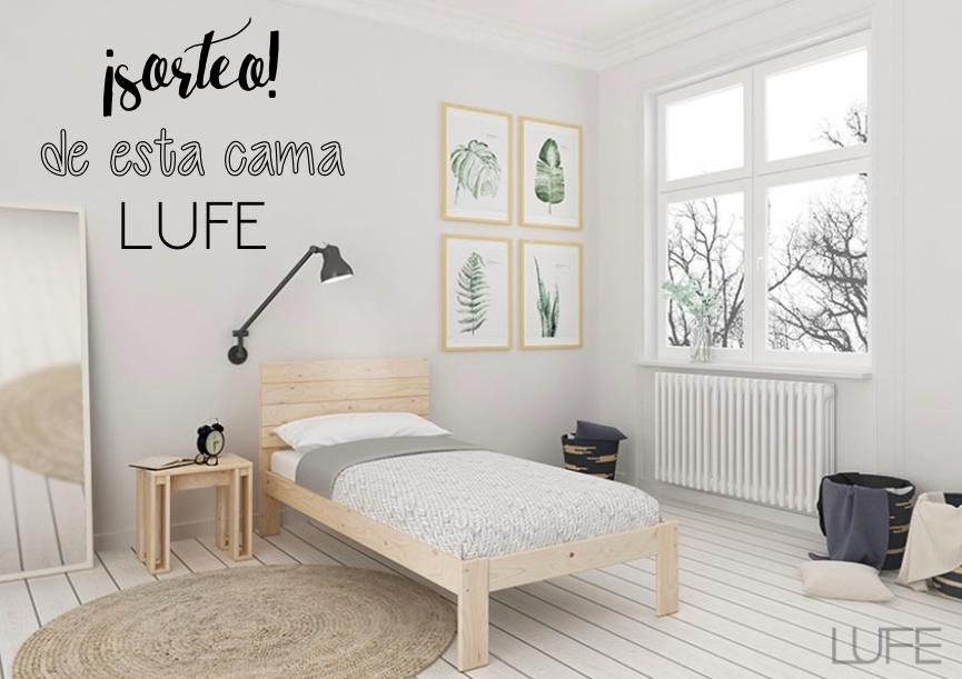Sorteo de cama lufe mi casa no es de mu ecas blog y - Muebles lufe opiniones ...