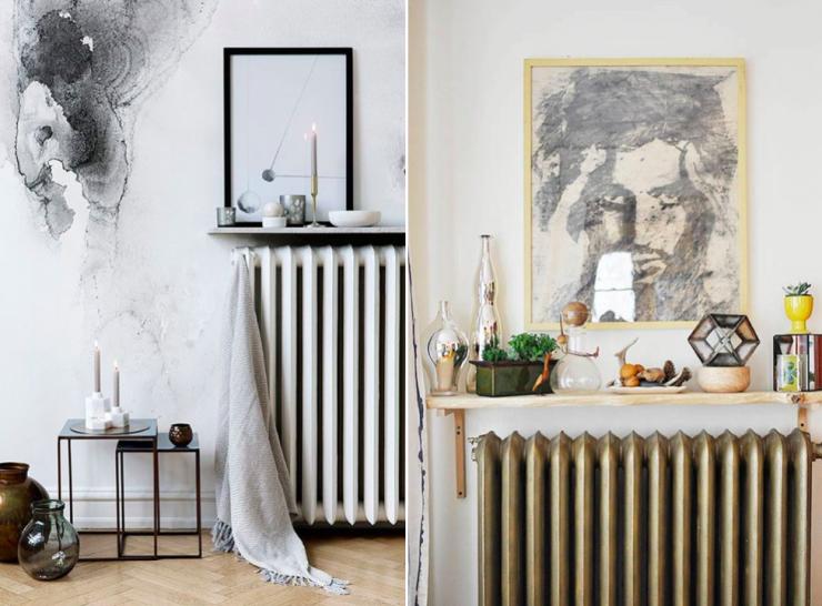 Disimular el radiador con una balda mi casa no es de mu ecas blog y asesor a online en - Ideas para cubrir radiadores ...