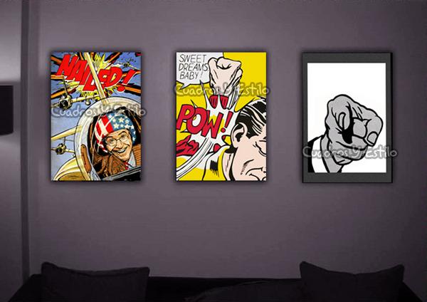La influencia de andy warhol en casa mi casa no es de for Muebles pop art