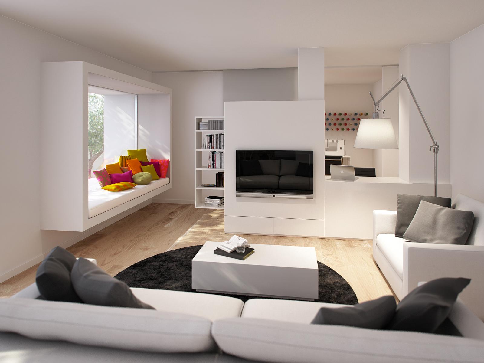 Una casa y m s de un ambiente mi casa no es de for Decorar piso tipo loft