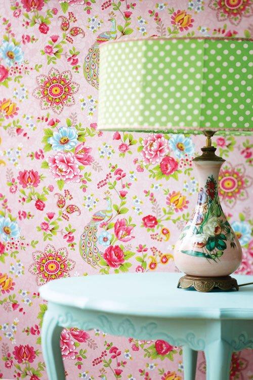 Libros de decoraci n paredes con mucha vida mi - Papel para cubrir paredes ...
