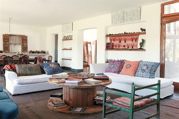 Antes una bobina de cable ahora una bonita mesa mi casa no es de mu ecas blog y - Cosas rusticas para decorar casa ...