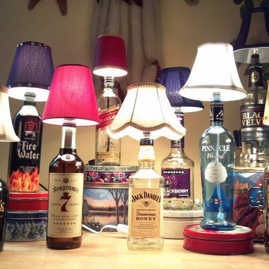 lamparas botellas