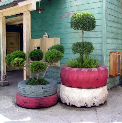 neumaticos jardineras