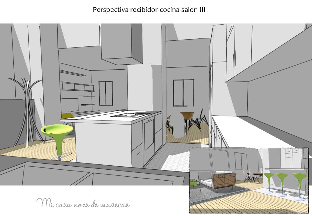 Distribuci n vivienda pedreguer alicante proyecto xl for Mi cocina plano