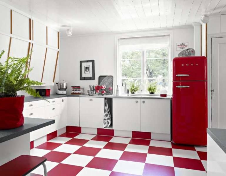 En un dominante rojo mi casa no es de mu ecas blog y - Mi casa no es de munecas ...