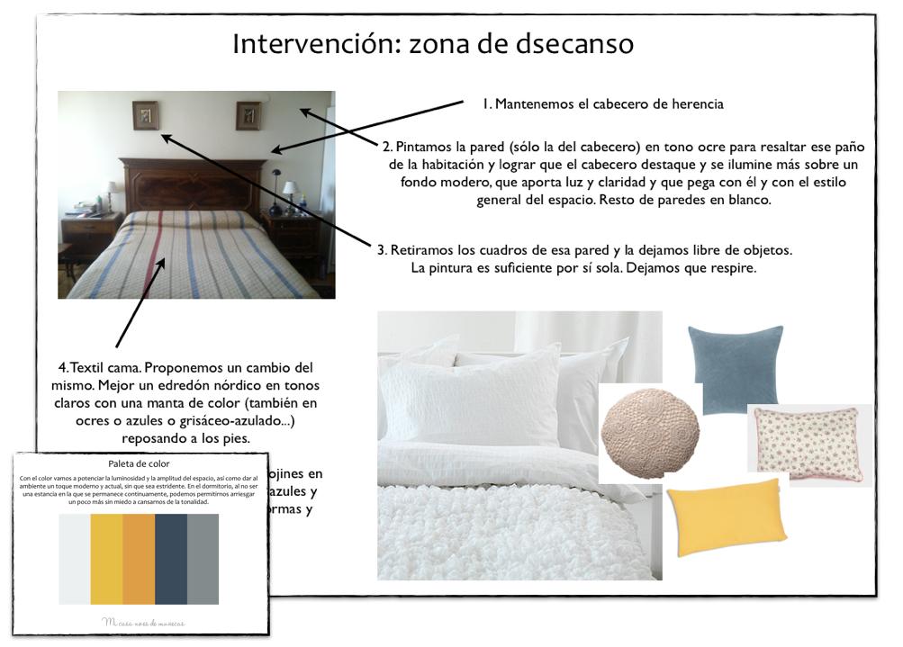 Proyecto de asesor a dormitorio en un estilo cl sico for Actualizar dormitorio clasico