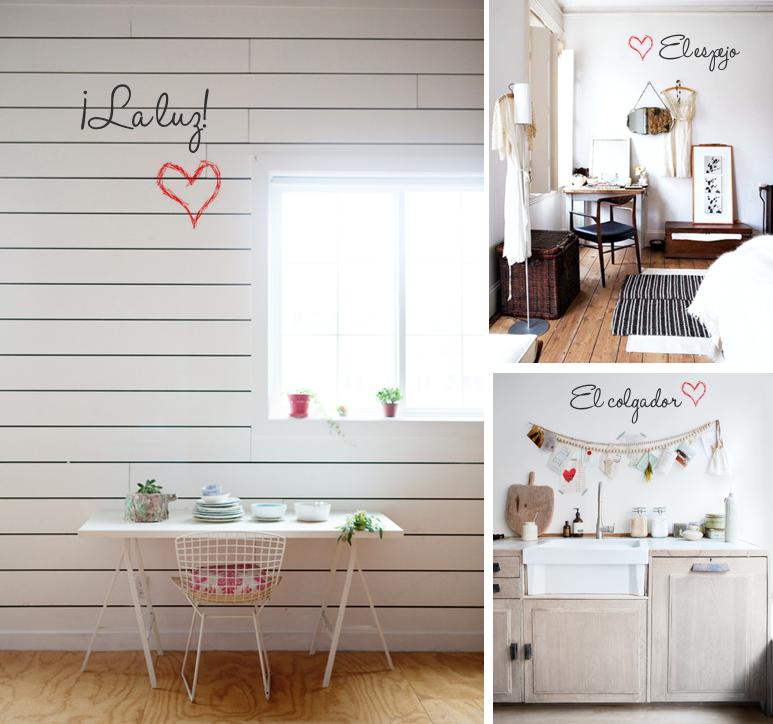 Imagen-love it-luz, espejo, colgador