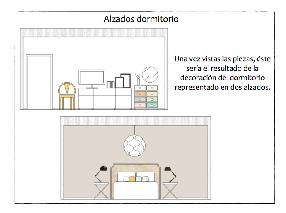 Proyecto de asesor a dormitorio contempor neo mi casa - Mi casa no es de munecas ...