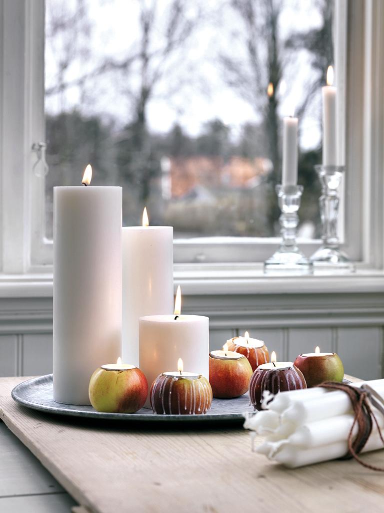 manzanas navidad