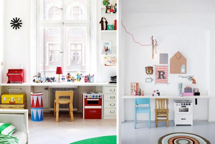Inspiraci n escritorios infantiles mi casa no es de for Ideas decoracion escritorio