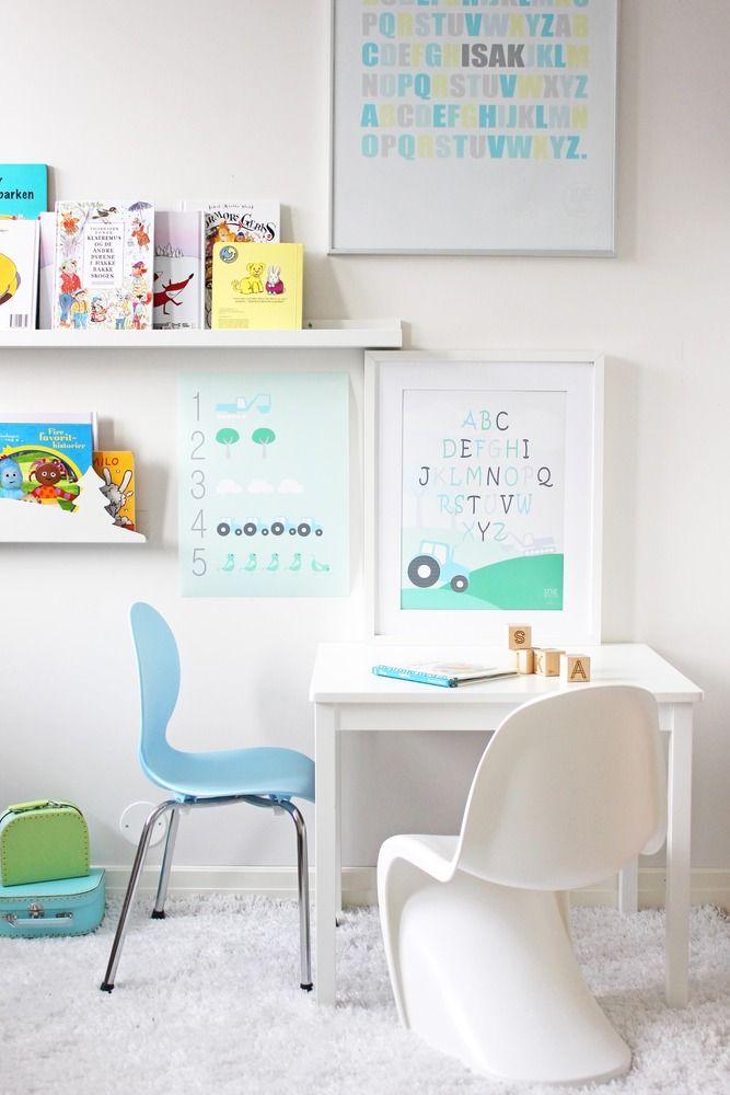 Inspiraci n escritorios infantiles mi casa no es de for Estudiar interiorismo