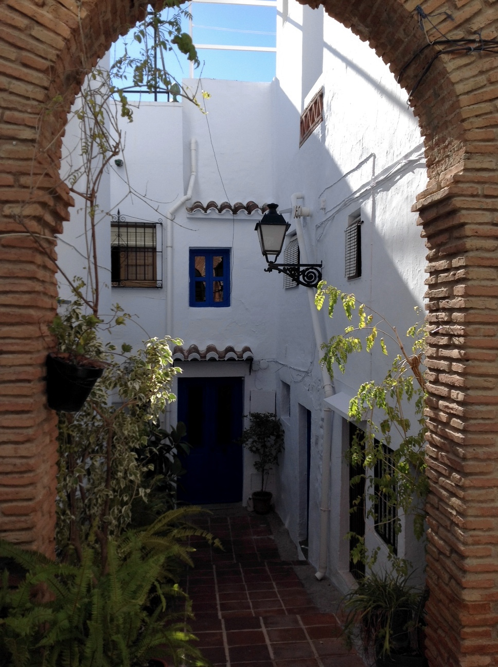 callejon andaluz-Frigiliana
