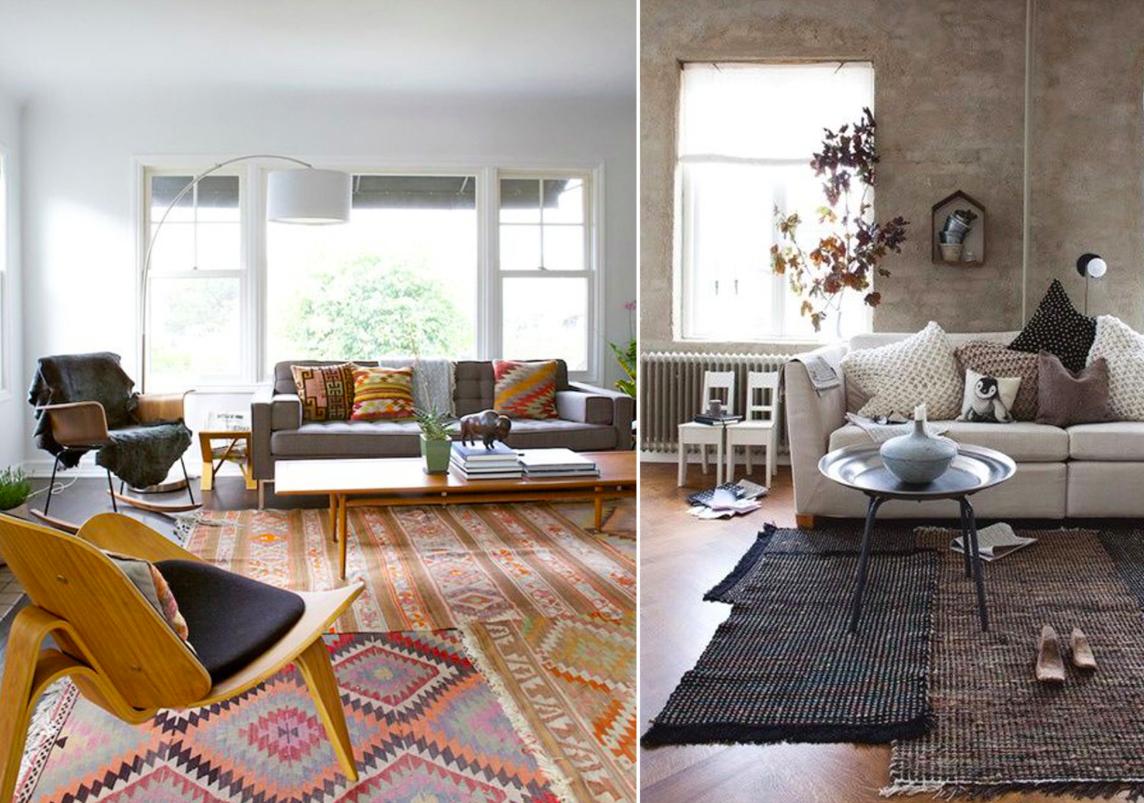 Superposici n de alfombras mi casa no es de mu ecas - Alfombras de casa ...