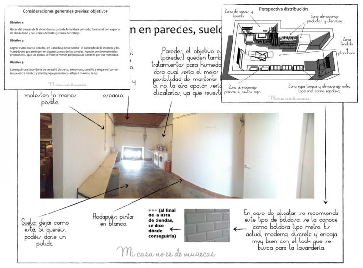 Proyecto de asesor a lavander a para una vivienda - Proyectos de interiorismo online ...