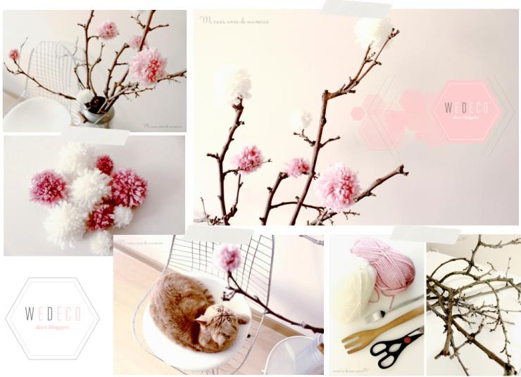 Wedeco decora con flores mi casa no es de mu ecas - Ramas de arbol para decorar ...
