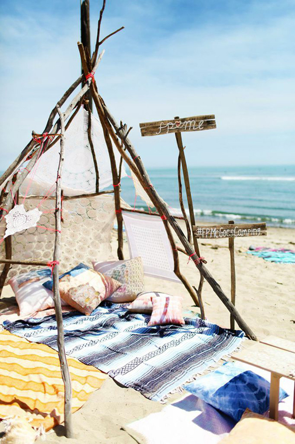Camping en la palaya de California 02