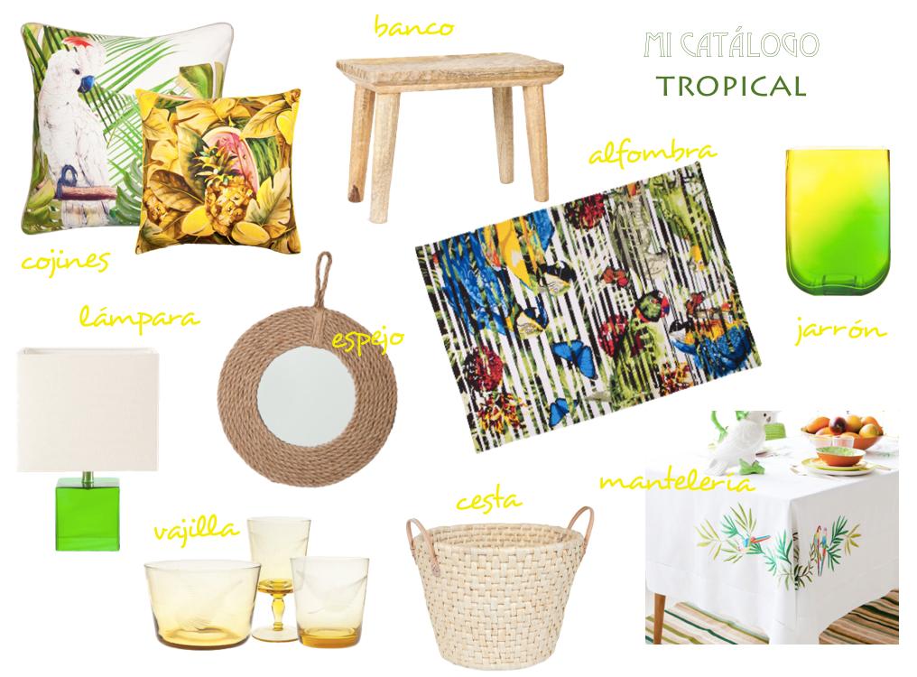 Catálogo tropical Zara Home