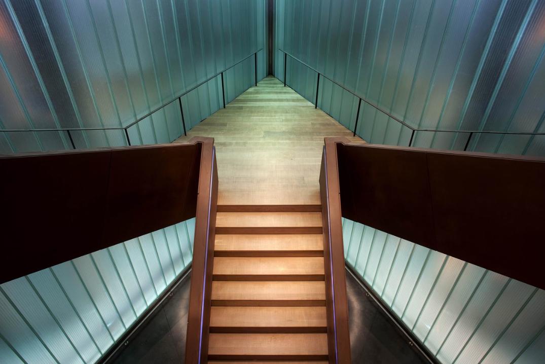 Escalera centra Bodegas Portia