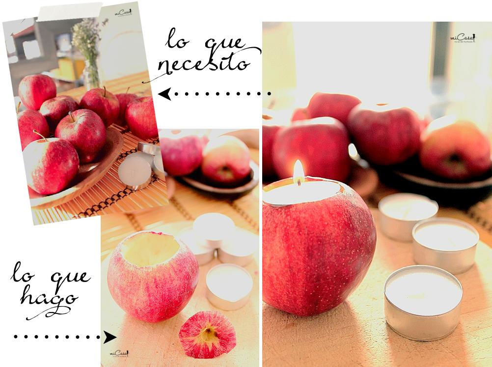 Centro manzanas - lo que necesito y lo que hago