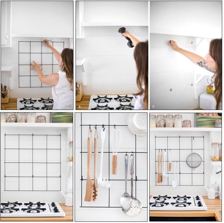 DIY-enrejado cocina B