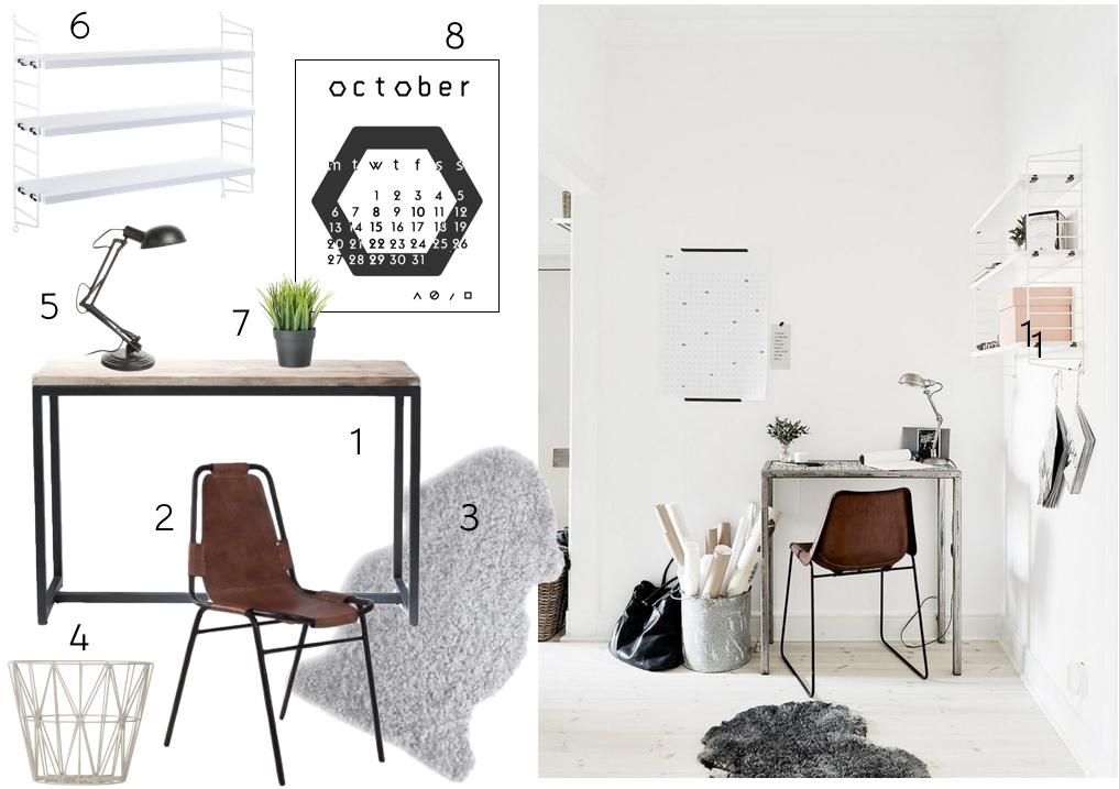 Get the look-escritorio industrial nordic
