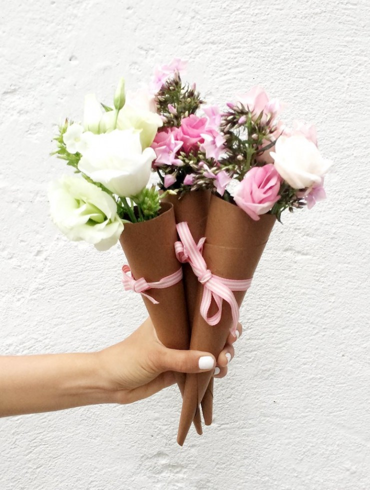 Cucurucho de flores mi casa no es de mu ecas blog y - Mi casa no es de munecas ...