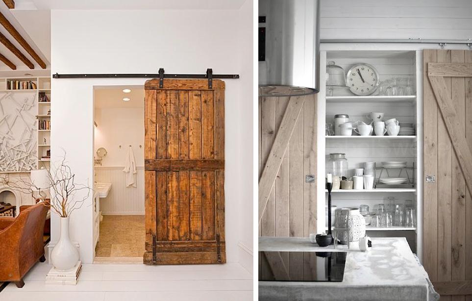 Puertas tipo granero mi casa no es de mu ecas blog y - Como hacer puertas de armario ...