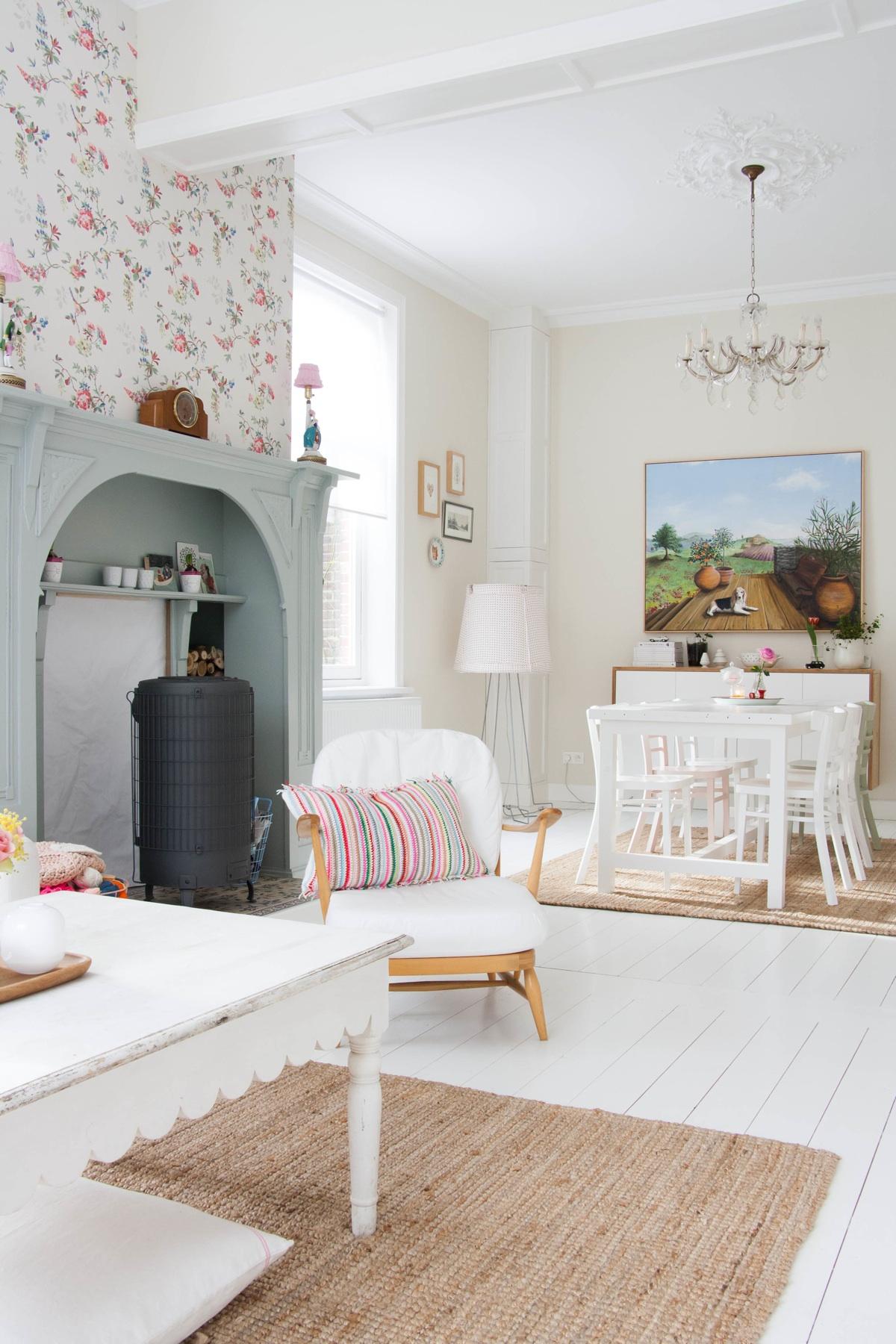 Casa estilo vintage femenino 06