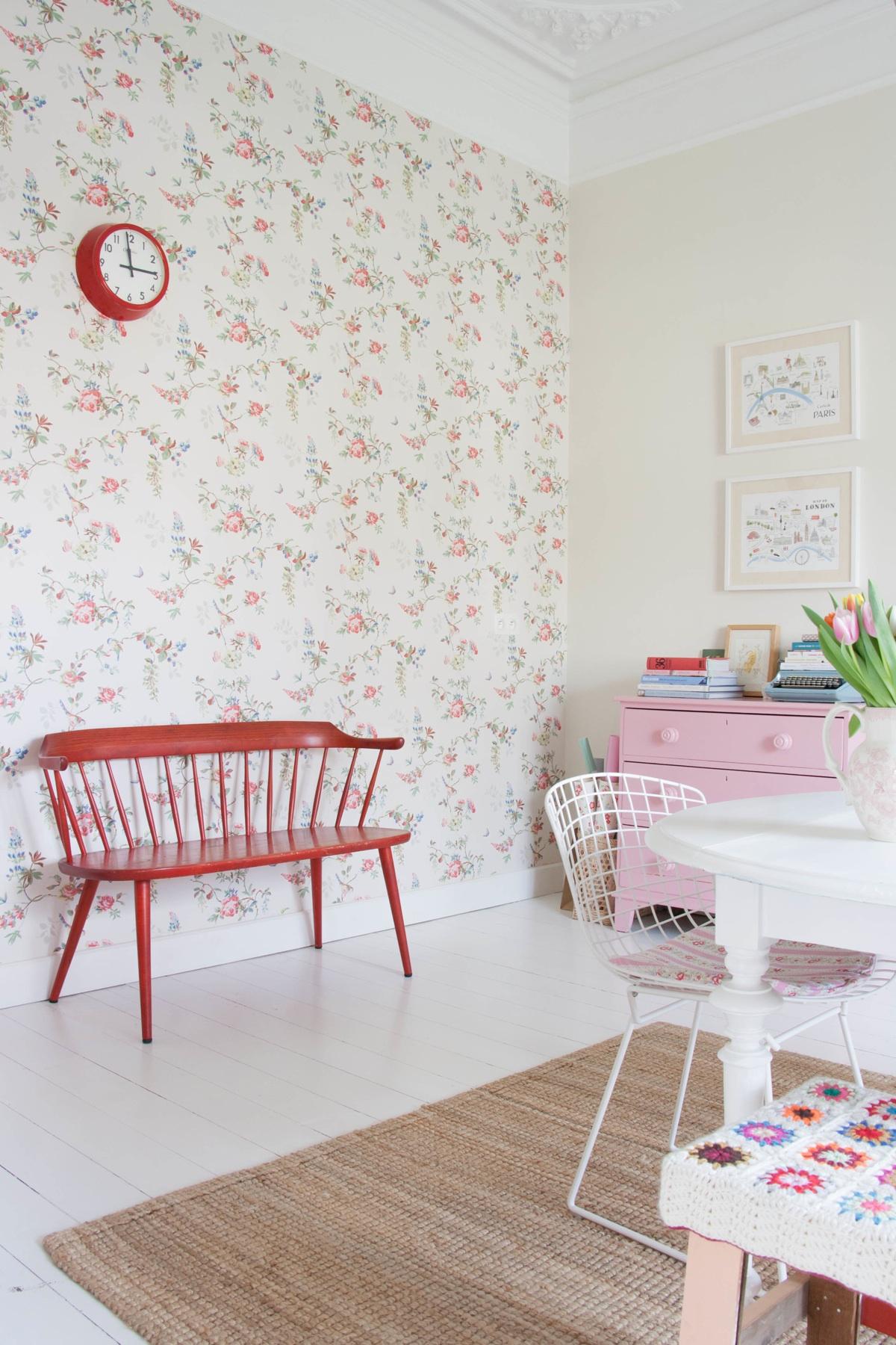 Casa estilo vintage femenino 12