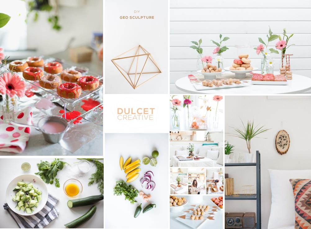Dulcet Creative moodboard blog