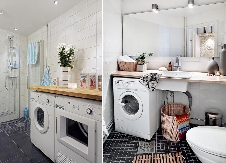 Ideas para integrar la lavadora en la deco de casa 07