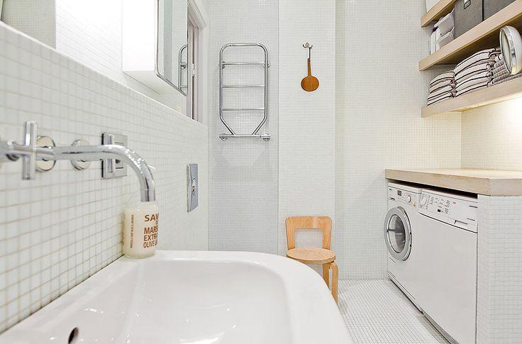 Ideas para integrar la lavadora en la deco de casa 13